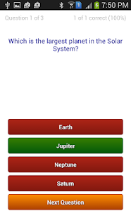 Quiz - Trial App - screenshot