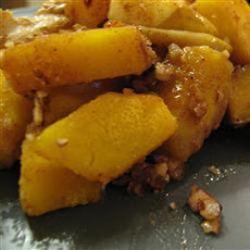 Microwaved Sweetened Squash
