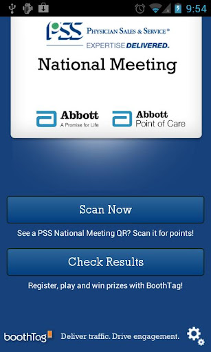PSS National Meeting BoothTag
