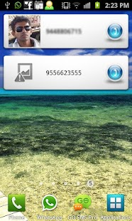 Favorite Contacts Dialer - screenshot