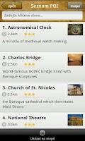 Screenshot of Prague Minos Guide