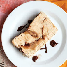 Peanut Butter-Chocolate Semifreddo
