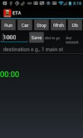 Screenshot of ETA - Estimated Arrival Time