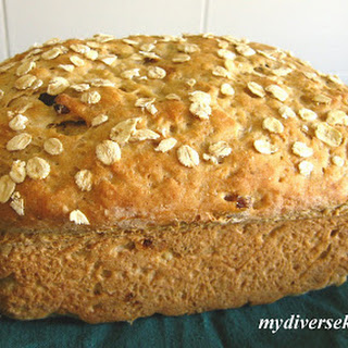 Eggless Oatmeal Bread