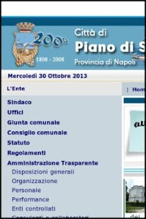 Comune di Piano di Sorrento - screenshot