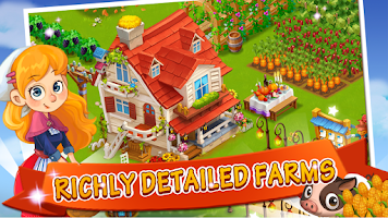 Screenshot of Happy Farm:Candy Day