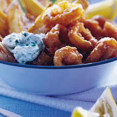 Paprika-battered Squid, Chunky Chips And Tartare Sauce