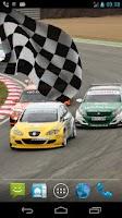 Screenshot of Racing Flag Live Wallpaper