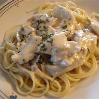 Slow Cooker Italian Chicken Alfredo