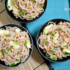 Cold Soba & Cucumber Salad