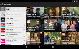 Screenshot of 3MobileTV