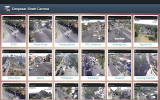 Screenshot of Denpasar Street Camera