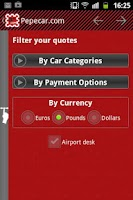 Screenshot of Pepecar.com Car Rental