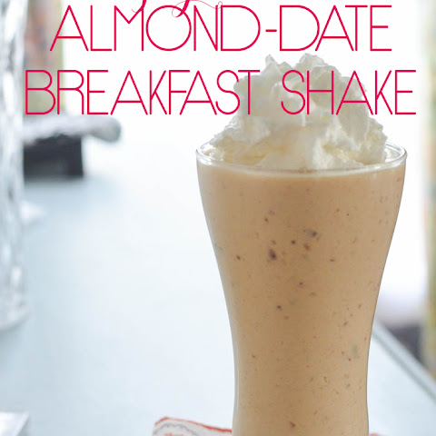 Almond Date Breakfast Shake