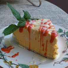 Orange Ice Cream Pie