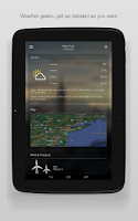 Screenshot of Yahoo Weather