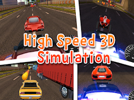 Screenshot of CAR RACING FREE