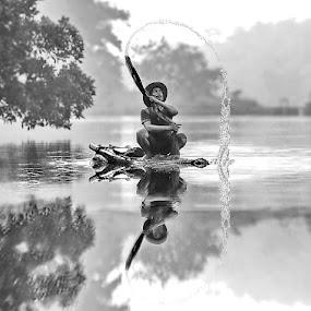 by DODY KUSUMA  - Black & White Street & Candid ( Free, Freedom, Inspire, Inspiring, Inspirational, Places, People, Emotion,  )