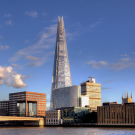 The Shard by Bill Green - Buildings & Architecture Office Buildings & Hotels ( the shard, london, the thames )