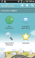 Screenshot of Free WiFi Finder