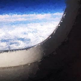 Window Seat by Allen Crenshaw - Digital Art Places ( abstract, glazeapp, digital art, photography )
