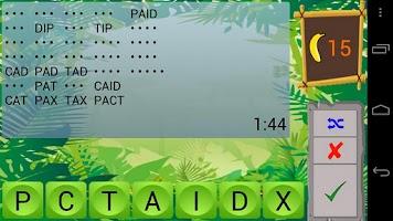 Screenshot of Jumble Safari