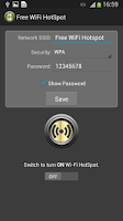 Screenshot of Free WiFi hotspot