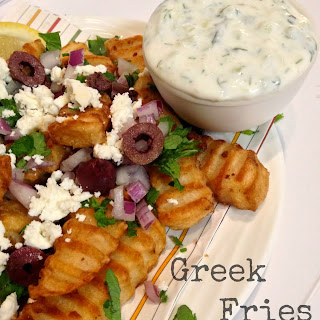 Greek Fries With Sauce Recipes