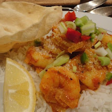 Brians Favourite Prawn Curry