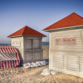 Beach Huts by Heather Allen - Buildings & Architecture Other Exteriors (  )