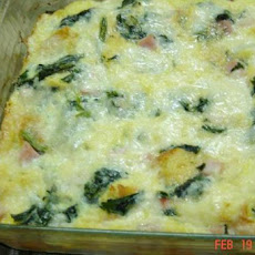 Green Eggs and Ham Casserole