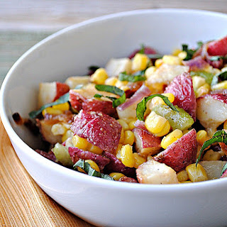 Roasted-Potato and Sweet Corn Salad