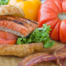 Smoky Salmon BLTs