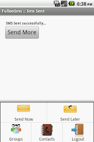 Screenshot of FullonSms - Send SMS for FREE!