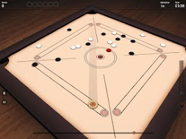 Screenshot of Carrom 3D