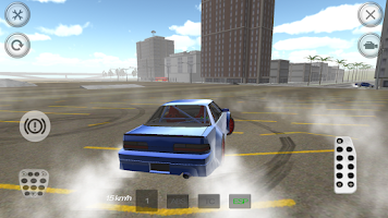 Screenshot of Road Drift Racing Car