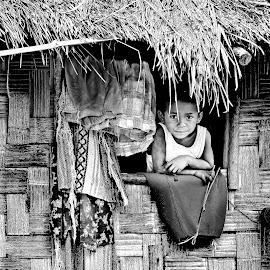 Window view by Anderson Bayani - People Portraits of Men ( children portrait, portraits, kids portrait,  )