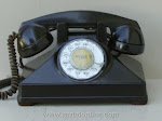 Desk Phones - Northern Electric Uniphone Brown $300