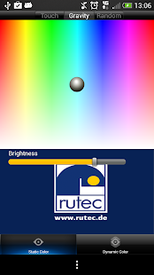 Rutec RGB Wifi Controller - screenshot