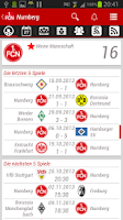 Screenshot of 1. FC Nuremberg App