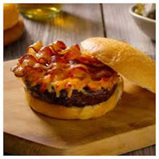 Pimento (Red Pepper) Cheese-Bacon Burgers