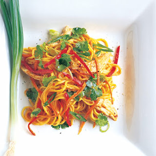 Spicy Asian Noodle and Chicken Salad