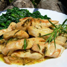 Très Rapide French Summer Tarragon Chicken