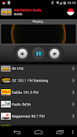 Screenshot of RADIO INDONESIA