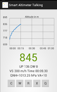 Android Smart Altimeter Promo - screenshot