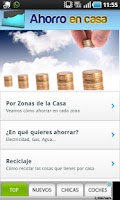 Screenshot of Ahorro en casa