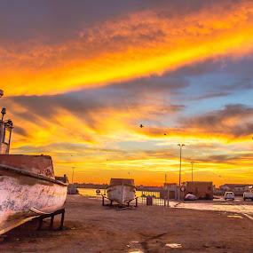 LAMBERTSBAAI by Theuns de Bruin - Transportation Boats ( l )
