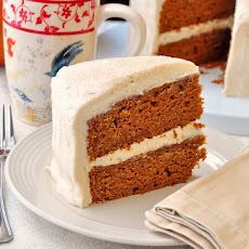 Sticky Toffee Pumpkin Cake with Brown Butter Cream Cheese Frosting