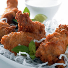 Coconut Chicken Wings