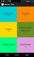 Screenshot of Memory Tiles